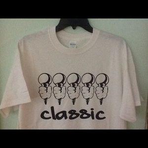 """Classic """"5 Mics"""" T-shirt New Hip hop"""